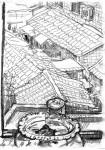 Из Китайских альбомов. Пейзаж с черепашкой. Бумага, карандаш. 2007г. 22х15см