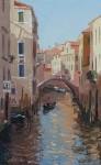 Вилкова Е. Венецианский канал.  40х25см. х.м. 2012г.