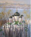 Вилков А. Благовещенский монастырь.  76х63 см. х.м. 2013г.