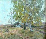 Осенний мотив к.м. 35х45см. 1997г.