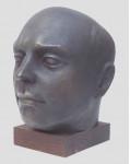 Портрет Константина 1995 г. Бронза. 25х17х22