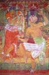 Танец любви. 85х130. гор. батик. шелк. 2005г