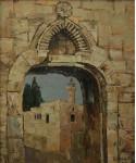 Врата в историю.  х.м.60х50см. 2007г.