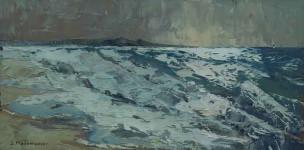 Солёный ветер.  х.м.30х60см. 2007г.