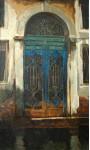 Венецианская дверь.  х.м.134х81см. 2007г.