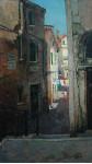 Венецианская улочка.  х.м. 90,5х51см. 2004г.