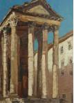 Храм Августа в Пуле.  х.м. 70х50см. 2008г.