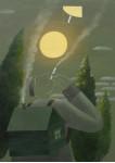 Прикуривающий от солнца