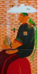 «Схождение» - х.м.   2006г.   270х140 (три стычных холста)