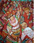 Игрище 80х100 х.б гор.батик