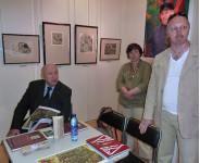 Работа жюри у картины «Московское СТОЛПОтворение», за столом Таир Теймурович Салахов.