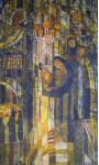 Молитва 80х136 х.б гор.батик