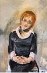 Женский портрет.  х/м 40х60см. 2006 год