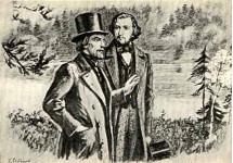 В.Г.Белинский и И.С.Тургенев