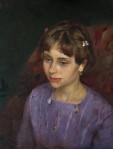 портрет холст, масло