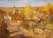 Осень в провинции.  х.м. 76х104 см. 2008г. Копняк В.