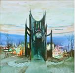 """""""Храм""""  орг./м.  75х75см. 2008 г."""