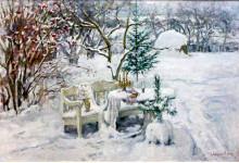 Зима. Х.м. 116х80см.
