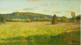 Солнечная осень. к.м. 28х48см. 2009г.