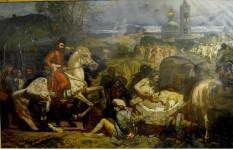 Картина Емельян Пугачёв х.м. 1981-1993г.г.  3000х4500см.