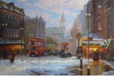 Вечерний Лондон.  х.м. 60х90 см. 2012г.
