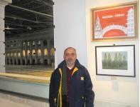 Ларин Н.Е. участник выставки Москва-Пекин.