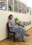 Выставка Елены Бубновой в Литературном музее