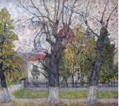 Октябрь. Пензенская картинная галерея. Холст,Масло.60х66 см. 2006 г.
