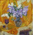 Персидская сирень. Холст, Масло.59.7х54.8 см. 1996 г.