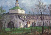 А Вилков  Палата привратника Горицкий монастырь 35х50 хм 2011г.