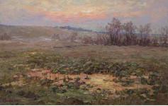 А Вилков  Предрассветная тишина 70х110 хм 2010г.