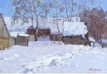 А Вилков  К концу зима пришла 35х50 хм 2011г