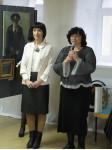 Открытие выставки Татьяны Аникиной