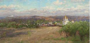 А Вилков   Земля православная  54х112 хм 2011г.