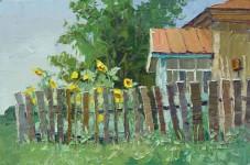 Е Вилкова  Как коротко лето 30х45 хм 2011г.