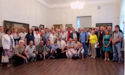Художники Пензы на выставке Ю. Карасева