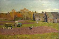 Осень на селе.
