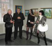 Открытие персональной выставки Грузд Т.