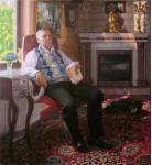 Филатов В.Парадный портрет.  х.м. 120х110 см. 2013г. Филатов В.В.