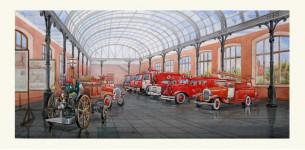 Проект Музея Пожарного дела.  2007г. Москва.
