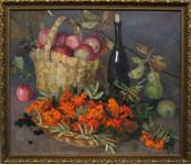 Рябина ,яблоки,вино.х.м. Кузнецова.Л.
