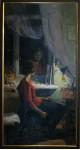 """Уделова.А. """"У окна"""" х.м. 2010г"""