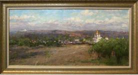 """Вилков А. """" Земля православная"""" х.м. 2011г."""