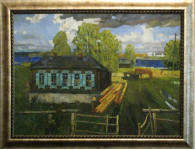 "Омельченко А. Л. ""Синяя река"" х.м. 2013 г."