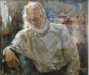 А.П. Афанасьев .Портрет художника Борисова