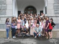 Выпускники ДХШ им.Татлина В.Е. г. пенза 2012г.
