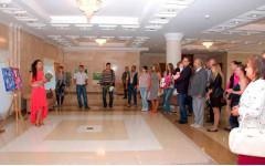 Открытие выставки Натальи Резановой