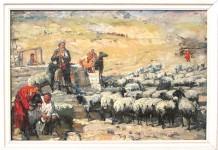 """Шурчилов А.С. """"Отара овец""""."""