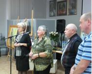 На выставке Татьяны Аникиной