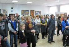 На выставке Татьяны Аникиной  октябрь 2013